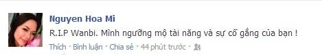 Sao Việt tiếc thương sự ra đi của Wanbi Tuấn Anh 19