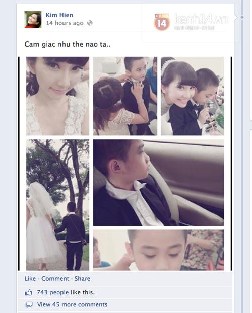 Kim Hiền bất ngờ lộ ảnh đi chụp cưới 1