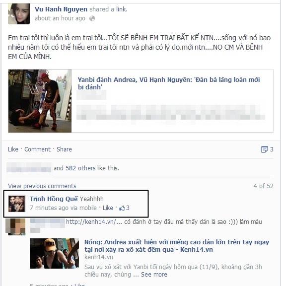 "Chuyện tình Yanbi - Andrea, ""trai đẹp"" Omar gây bão Facebook 4"
