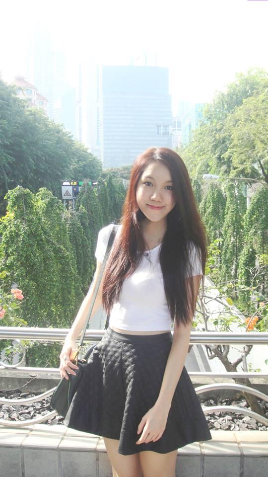Cận cảnh nhan sắc của em gái Hoa hậu Thùy Lâm 9