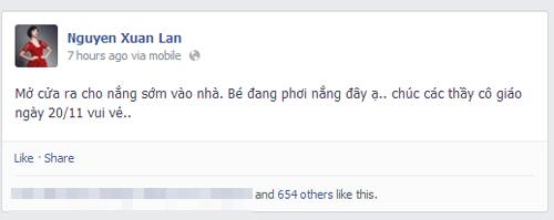 Sao Việt rộn ràng gửi lời tri ân thầy cô ngày 20/11 8