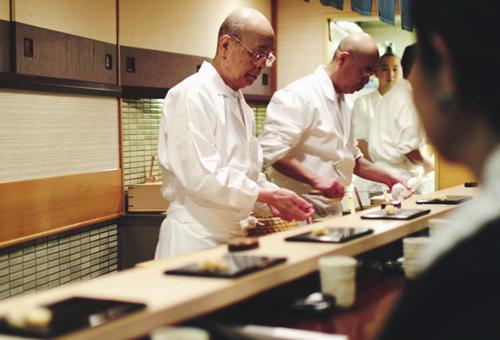 Sukiyabashi Jiro - Nơi có sushi ngon nhất thế giới 6