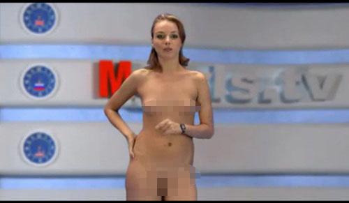 Sốc nặng với kênh truyền hình MC thoát y tại Nga 6
