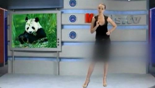 Sốc nặng với kênh truyền hình MC thoát y tại Nga 7