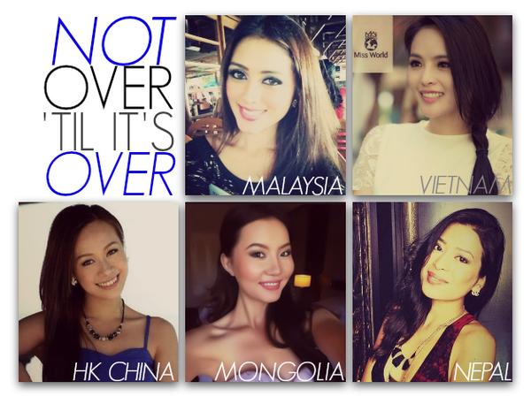 Lại Hương Thảo bất ngờ được đánh giá cao tại Miss World 2013 1