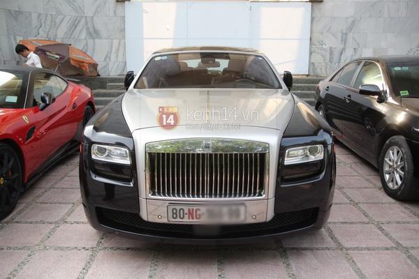 Cận cảnh loạt xe sang chen chúc đến dự lễ cưới của Ngọc Thạch 30