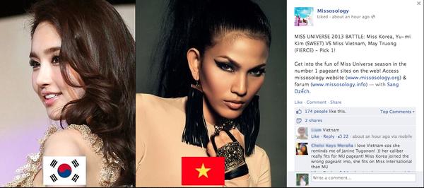 Ảnh so sánh sắc đẹp Trương Thị May với Hoa hậu Hàn Quốc gây sốt 1