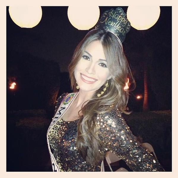 Cận cảnh nhan sắc xinh đẹp của Miss Universe 2013 8