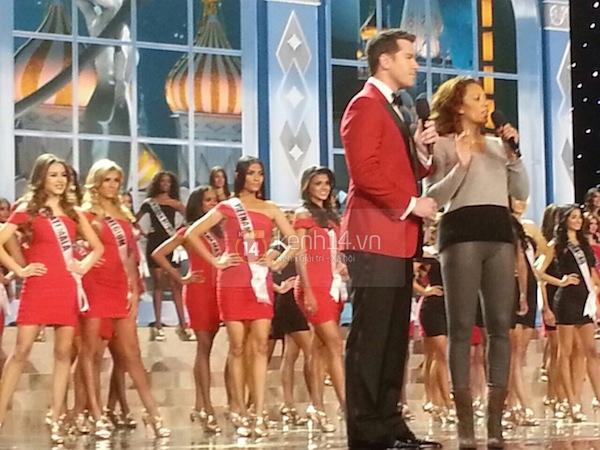 Độc quyền: Hình ảnh hiếm hoi buổi tổng duyệt Chung kết Miss Universe 2013 1