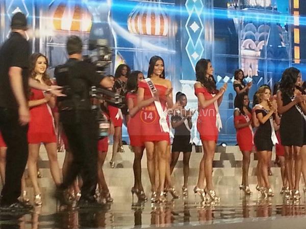 Độc quyền: Hình ảnh hiếm hoi buổi tổng duyệt Chung kết Miss Universe 2013 2