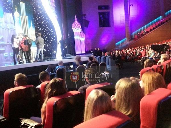 Độc quyền: Hình ảnh hiếm hoi buổi tổng duyệt Chung kết Miss Universe 2013 3