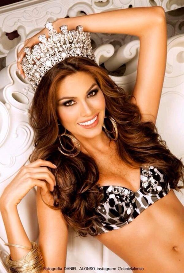 Cận cảnh nhan sắc xinh đẹp của Miss Universe 2013 9