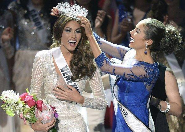 Cận cảnh nhan sắc xinh đẹp của Miss Universe 2013 1