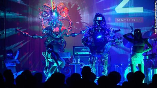 Gặp nhóm nhạc robot chơi rock cực ấn tượng 2