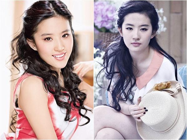 Những người đẹp nổi tiếng trẻ lạ lùng của Trung Quốc 2