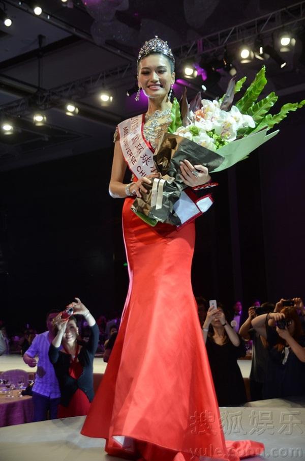 """Tân Hoa hậu Hoàn vũ Trung Quốc 2013 bị chê là """"thảm họa"""" 1"""
