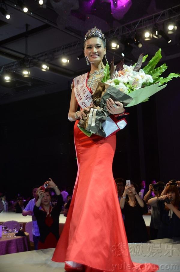 """Tân Hoa hậu Hoàn vũ Trung Quốc 2013 bị chê là """"thảm họa"""" 2"""
