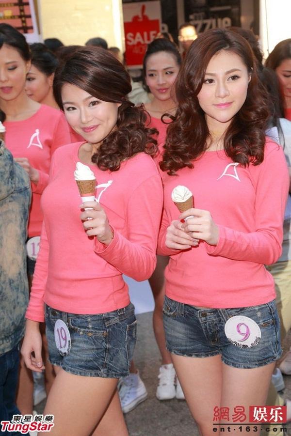 Dàn thí sinh Hoa hậu châu Á mặc quần ngắn giữa trời rét 10 độ C 3