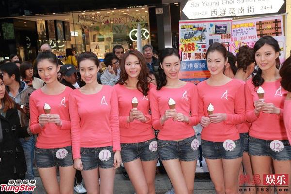 Dàn thí sinh Hoa hậu châu Á mặc quần ngắn giữa trời rét 10 độ C 7