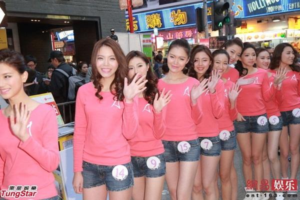 Dàn thí sinh Hoa hậu châu Á mặc quần ngắn giữa trời rét 10 độ C 11