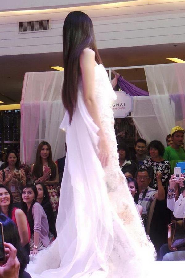 Nong Poy lộng lẫy như nữ thần khi mặc váy cưới 5