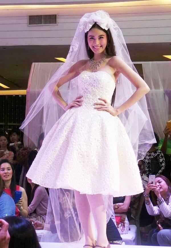 Nong Poy lộng lẫy như nữ thần khi mặc váy cưới 2