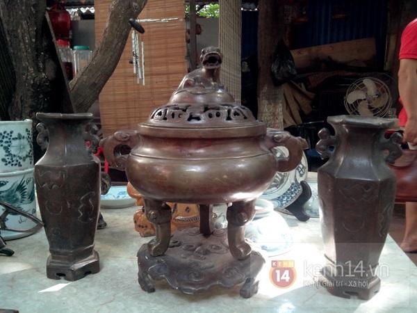 Săn hàng độc ở phiên chợ đồ cổ, đồ xưa đặc biệt giữa Hà Nội 8