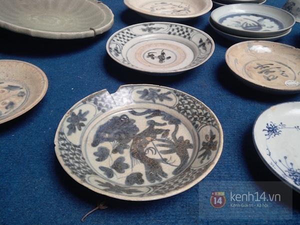 Săn hàng độc ở phiên chợ đồ cổ, đồ xưa đặc biệt giữa Hà Nội 16