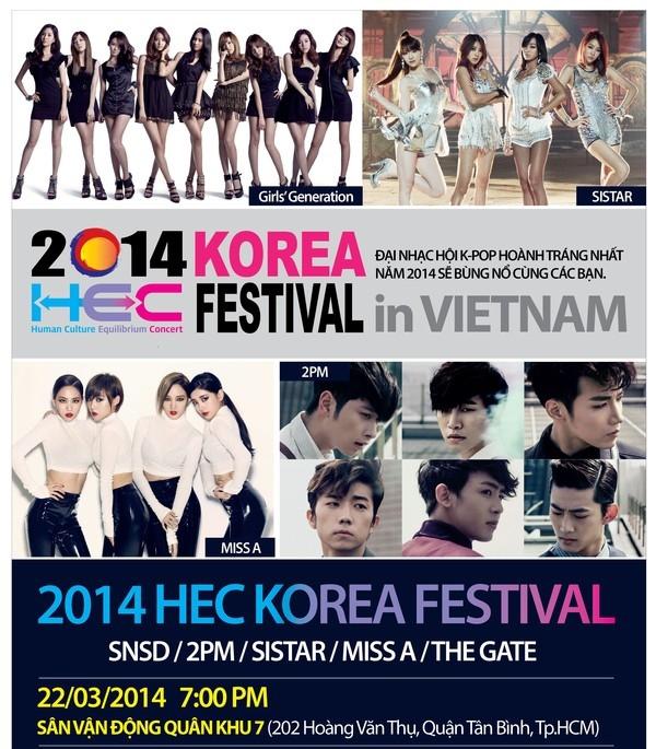 Vé xem SNSD, 2PM... tại Việt Nam chạm mốc 4 triệu đồng 1
