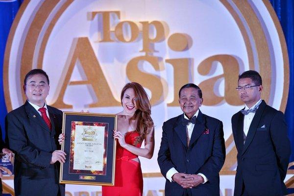 Mỹ Tâm được vinh danh Huyền thoại Âm nhạc Châu Á tại Malaysia 2