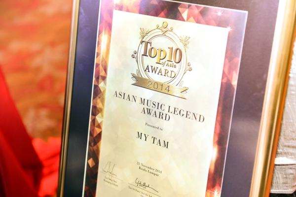 Mỹ Tâm được vinh danh Huyền thoại Âm nhạc Châu Á tại Malaysia 6