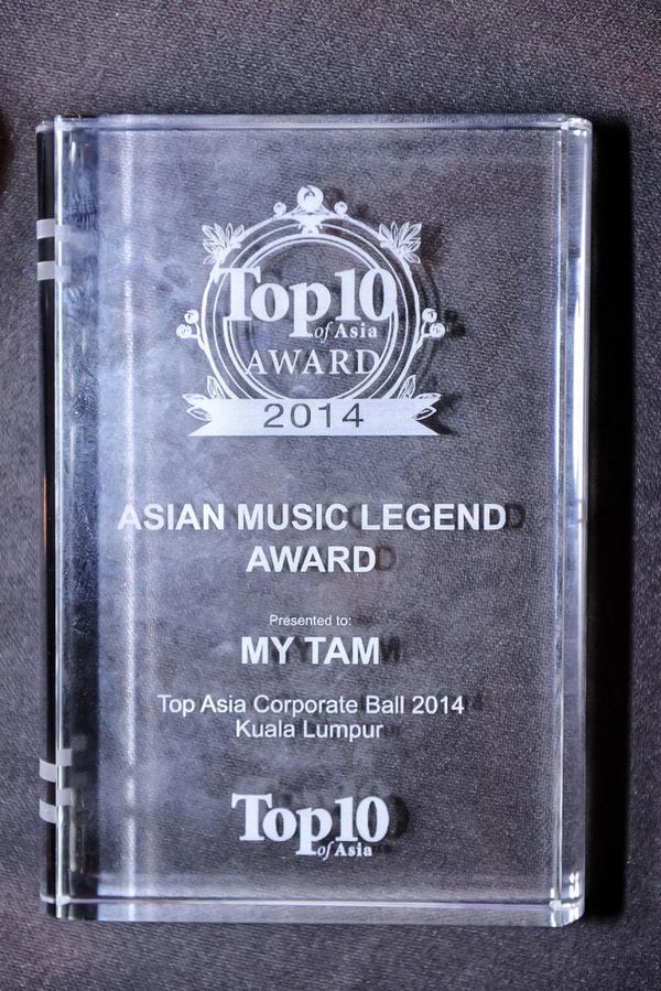 Mỹ Tâm được vinh danh Huyền thoại Âm nhạc Châu Á tại Malaysia 5