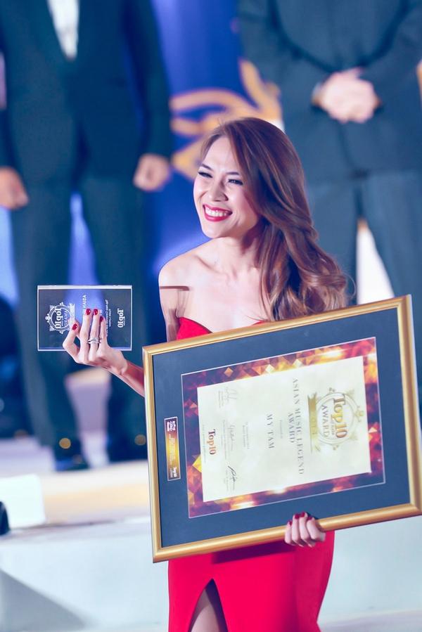 Mỹ Tâm được vinh danh Huyền thoại Âm nhạc Châu Á tại Malaysia 3