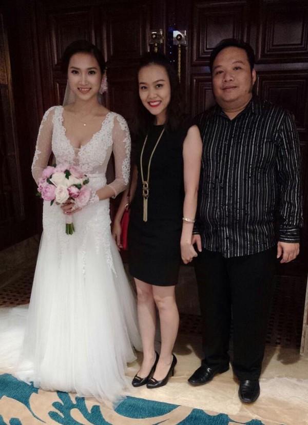 Vợ chồng Lam Trường khiêu vũ trên nền giọng hát của Mr.Đàm trong đám cưới 1