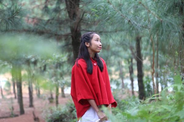 Cả gia đình Mỹ Linh tập luyện để quay MV Giáng sinh 7