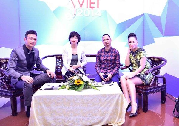 """Thu Minh """"vác"""" bụng bầu 6 tháng đi làm khách mời bình luận 4"""