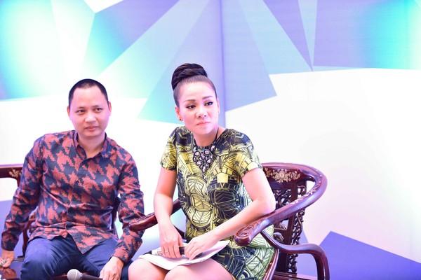 """Thu Minh """"vác"""" bụng bầu 6 tháng đi làm khách mời bình luận 6"""