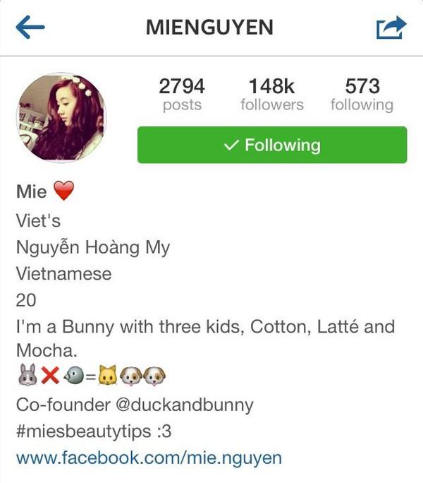 """Top 8 hot girl Việt sở hữu lượng """"follower"""" khủng trên Instagram 7"""