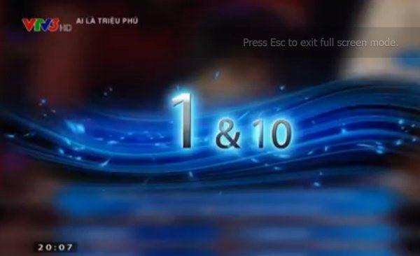 """Những con số """"siêu"""" ấn tượng sau 10 năm phát sóng Ai là triệu phú 3"""