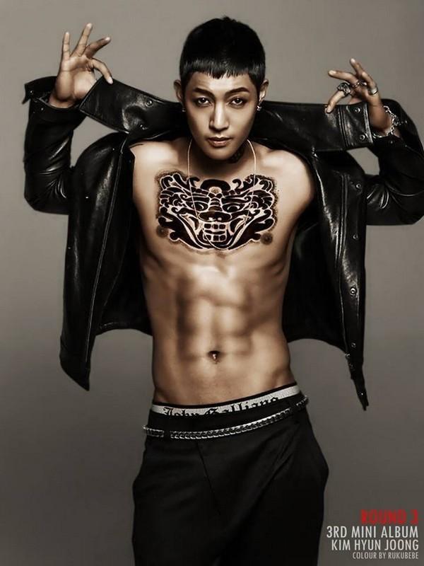 Sao Kpop chuộng vẽ vời trên cơ thể 16