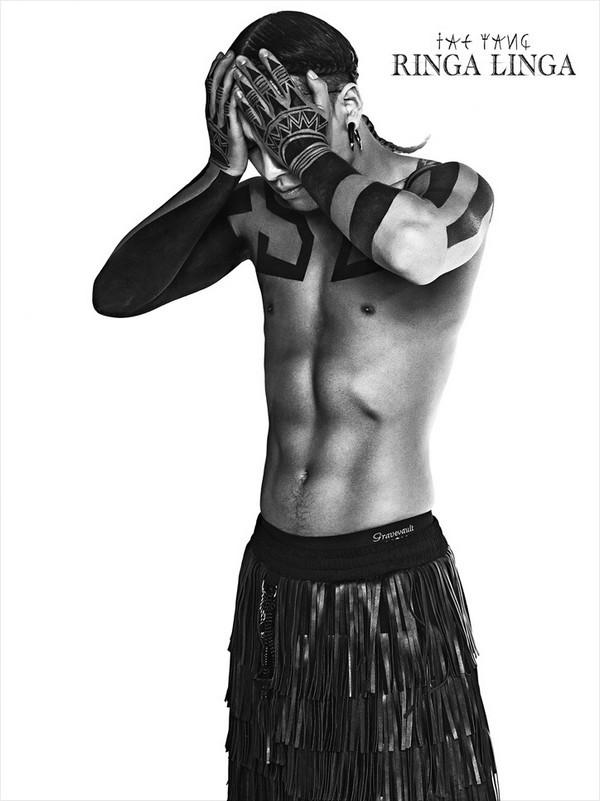 Sao Kpop chuộng vẽ vời trên cơ thể 7