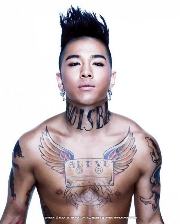 Sao Kpop chuộng vẽ vời trên cơ thể 4