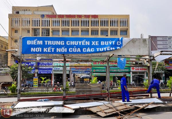 Hình ảnh cuối cùng về nơi kết nối xe buýt đầu tiên ở Hà Nội   9