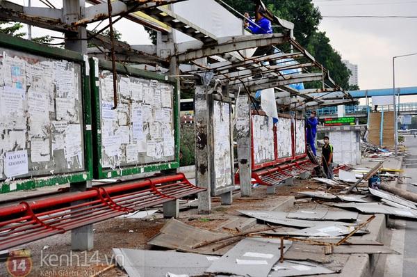 Hình ảnh cuối cùng về nơi kết nối xe buýt đầu tiên ở Hà Nội   2