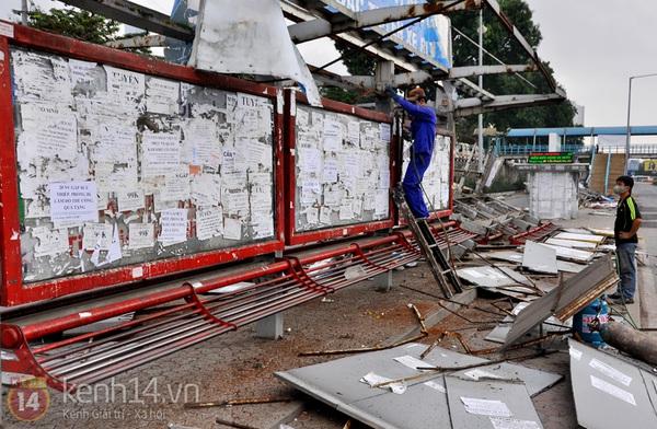 Hình ảnh cuối cùng về nơi kết nối xe buýt đầu tiên ở Hà Nội   4