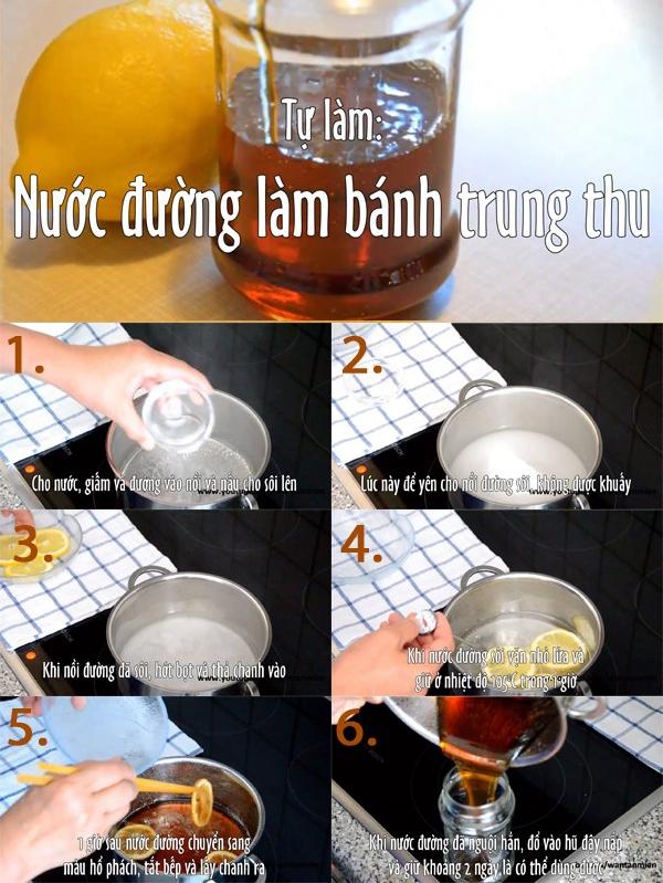 Bí kíp đun nước đường cho bánh Trung Thu đẹp và thơm 1