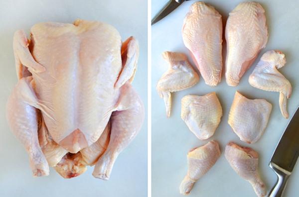 Kỹ năng làm bếp cơ bản: Cách cắt 1 con gà nhanh và đẹp 1