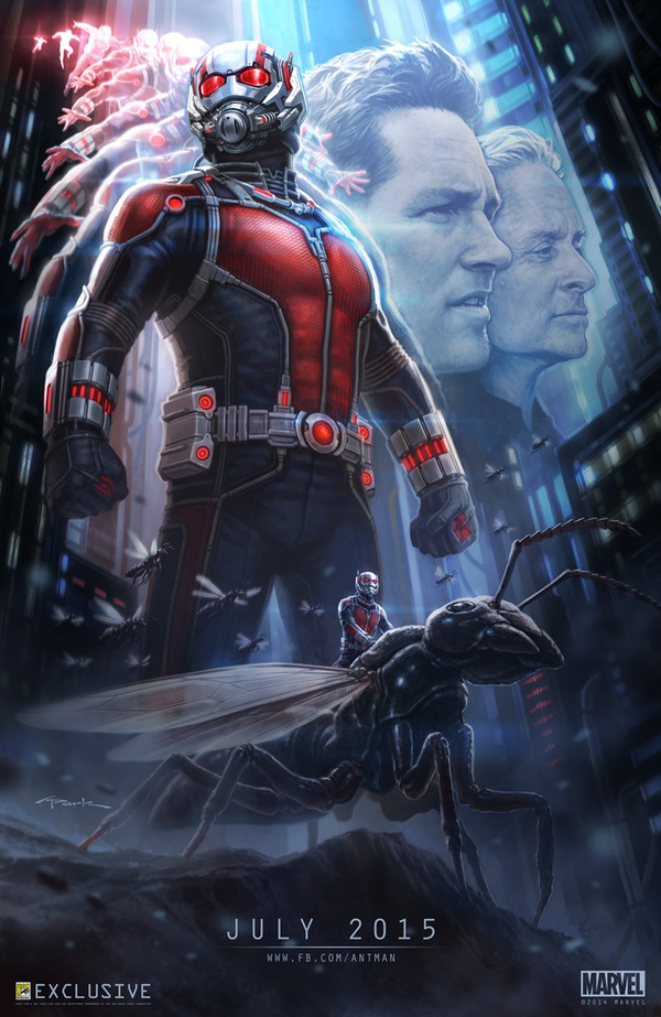 Marvel nhá hàng cho trailer của Ant-Man 1