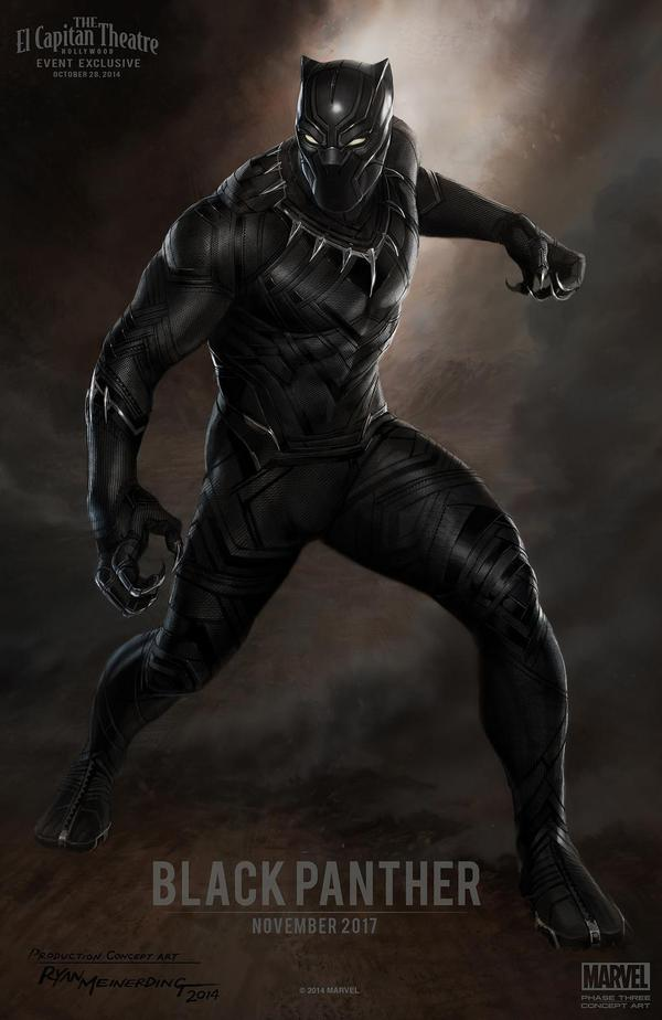 """Trailer """"Avengers: Age Of Ultron"""" bật mí về Black Panther 1"""