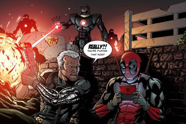 """""""Dị nhân lắm mồm"""" Deadpool đã tìm được địa điểm tung hoành 3"""